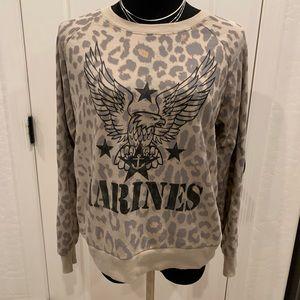 Forever 21 Marines sweatshirt 🌸Size Large